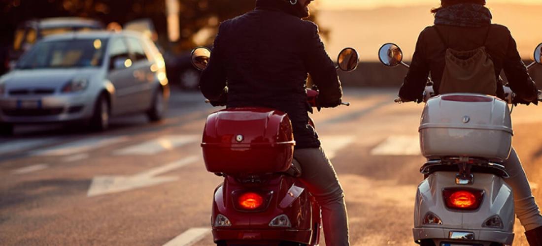 Louer un scooter pour faire des balades
